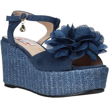Zapatos Mujer Sandalias Love To Love GIN579 Azul