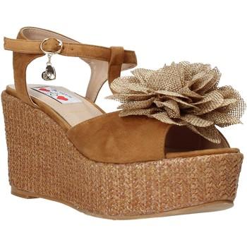 Zapatos Mujer Sandalias Love To Love GIN575 Marrón