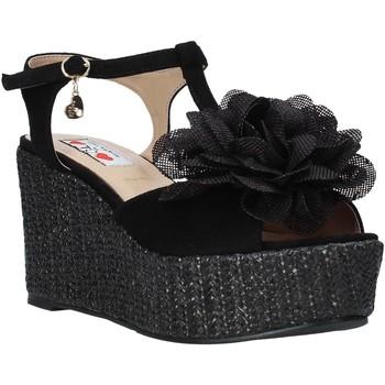 Zapatos Mujer Sandalias Love To Love GIN583 Negro