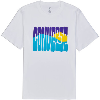 textil Hombre Camisetas manga corta Converse 10018864-A01 Blanco