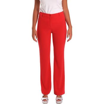 textil Mujer Pantalones chinos Gaudi 811FD25013 Rojo