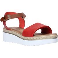 Zapatos Mujer Sandalias Jeiday 1278-9696 Rojo