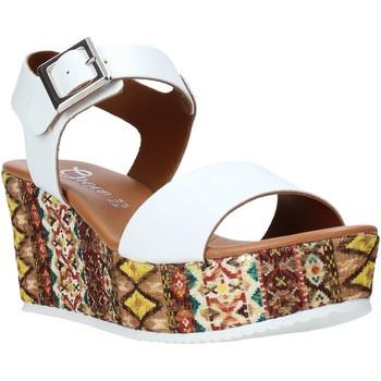Zapatos Mujer Sandalias Grace Shoes 06 Blanco