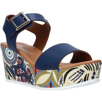 Zapatos Mujer Sandalias Grace Shoes 07 Azul