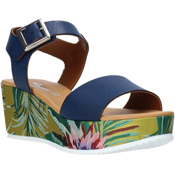 Zapatos Mujer Sandalias Grace Shoes 01 Azul