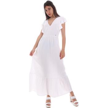 textil Mujer Vestidos largos Gaudi 011BD15039 Blanco