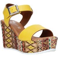 Zapatos Mujer Sandalias Grace Shoes 08 Amarillo