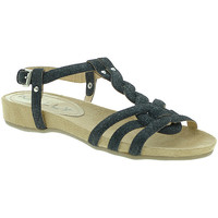 Zapatos Mujer Sandalias Mally 3828GL Negro