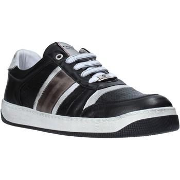 Zapatos Hombre Zapatillas bajas Exton 310 Negro