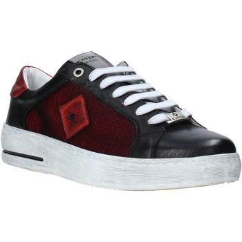 Zapatos Hombre Zapatillas bajas Exton 177 Negro