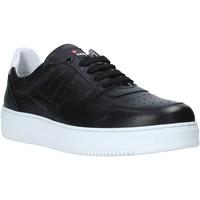 Zapatos Hombre Zapatillas bajas Exton 427 Negro