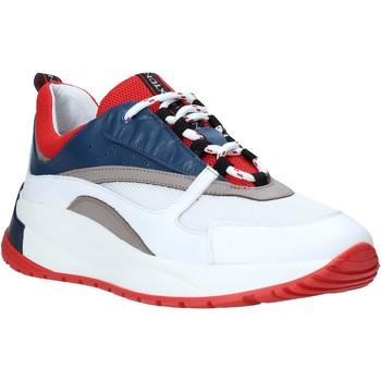 Zapatos Hombre Zapatillas bajas Exton 291 Blanco