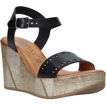Zapatos Mujer Sandalias Jeiday EVA-Z80M Negro