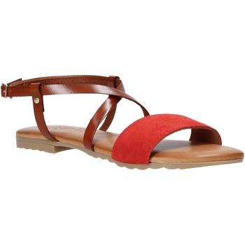 Zapatos Mujer Sandalias Jeiday YARA-SALLY Rojo