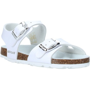 Zapatos Niños Sandalias Grunland SB0027 Blanco