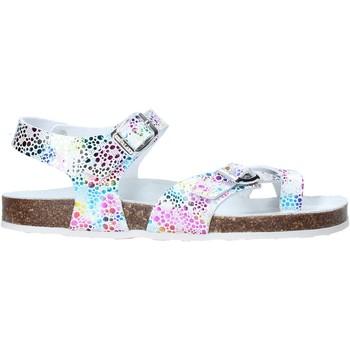 Zapatos Niña Sandalias Grunland SB1503 Blanco
