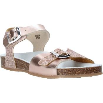 Zapatos Niña Sandalias Grunland SB1500 Beige