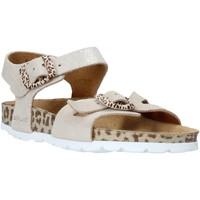 Zapatos Niños Sandalias Grunland SB1519 Beige