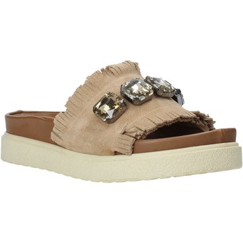 Zapatos Mujer Zuecos (Mules) Bueno Shoes CM2217 Beige