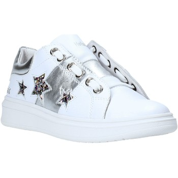 Zapatos Niña Zapatillas bajas Holalà HS0065L Blanco