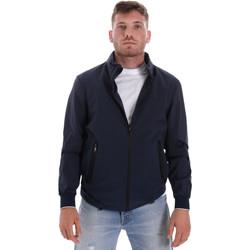 textil Hombre cazadoras Les Copains 9UB082 Azul