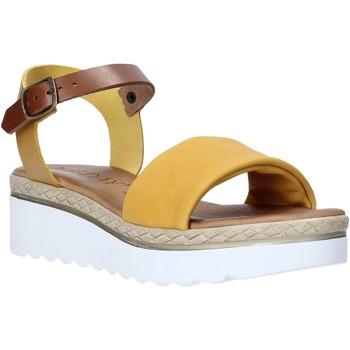 Zapatos Mujer Sandalias Jeiday 1278-9696 Amarillo