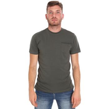 textil Hombre Camisetas manga corta Les Copains 9U9010 Verde