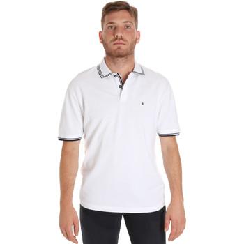 textil Hombre Polos manga corta Les Copains 9U9020 Blanco