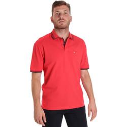 textil Hombre Polos manga corta Les Copains 9U9020 Rojo