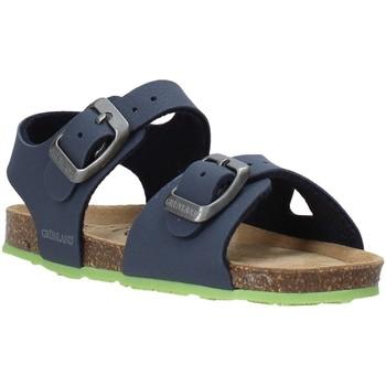 Zapatos Niños Sandalias Grunland SB0413 Azul