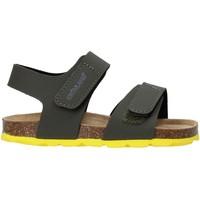 Zapatos Niños Sandalias Grunland SB0094 Verde