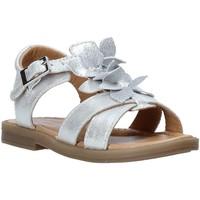 Zapatos Niña Sandalias Grunland PS0062 Plata