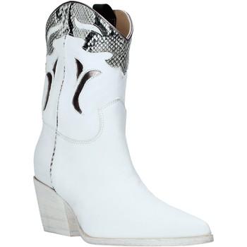 Zapatos Mujer Botines Mally 6918P Blanco