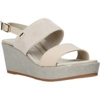 Zapatos Mujer Sandalias Valleverde 32212 Beige