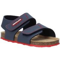 Zapatos Niños Sandalias Grunland SB0802 Azul