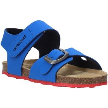 Zapatos Niños Sandalias Grunland SB0372 Azul