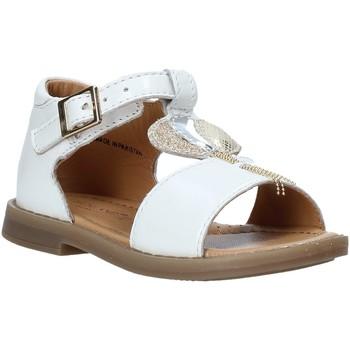 Zapatos Niña Sandalias Grunland PS0063 Blanco