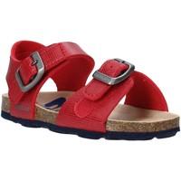 Zapatos Niños Sandalias Grunland SB1534 Rojo