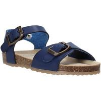Zapatos Niños Sandalias Grunland SB1551 Azul
