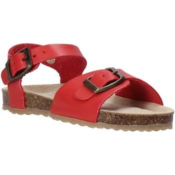 Zapatos Niños Sandalias Grunland SB1551 Rojo