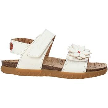 Zapatos Niña Sandalias Grunland SB1564 Blanco