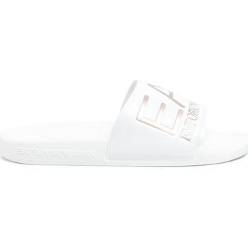 Zapatos Mujer Chanclas Ea7 Emporio Armani XCP001 XCC22 Blanco
