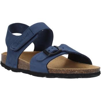 Zapatos Niños Sandalias Grunland SB0236 Azul