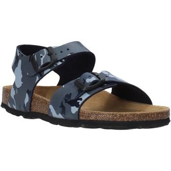 Zapatos Niños Sandalias Grunland SB0115 Gris