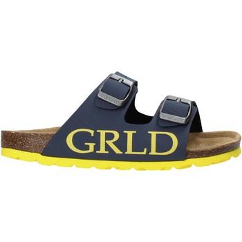 Zapatos Niños Zuecos (Mules) Grunland CB2420 Azul