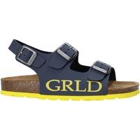 Zapatos Niños Sandalias Grunland SB1516 Azul