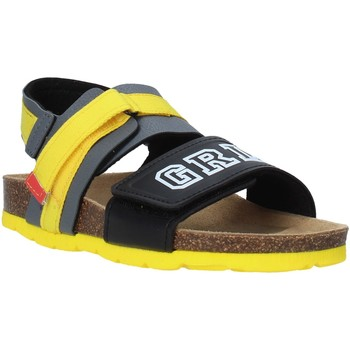 Zapatos Niños Sandalias Grunland SB1517 Gris