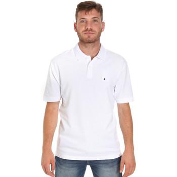 textil Hombre Polos manga corta Les Copains 9U9015 Blanco
