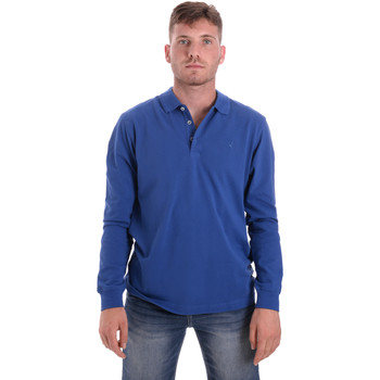 textil Hombre Polos manga larga Navigare NV82109 Azul