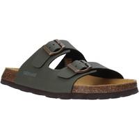Zapatos Hombre Zuecos (Mules) Grunland CB3012 Verde